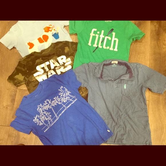 69c105c6 Mini Boden Shirts & Tops | Little Boys Size 8 Tshirt Bundlegently ...